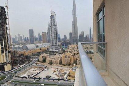 Wider View Downtown Burj Views