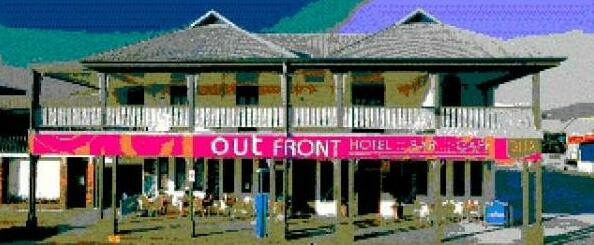 Out Front Hotel Cairns