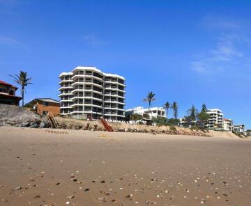 Spindrift on the Beach