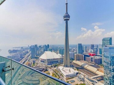 Presidential 2+1BR Condo Entertainment District Downtown w/ CN Tower View Balcony Pool & Hot Tu