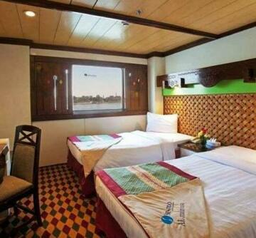 MS Mahrousa Cruise Ship Hotel Luxor
