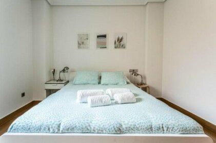 Apartamento En Primera Linea De Playa Riazor En A Coruna
