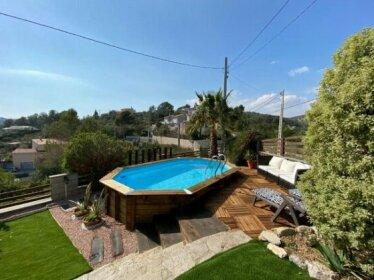Amazing Vila close to Sitges jacuzzi & exellent views