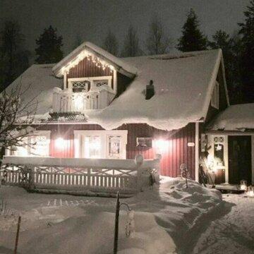 Villa Red House Arctic Circle