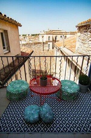 Appartement Prive Climatise entre Arenes et Maison Carree