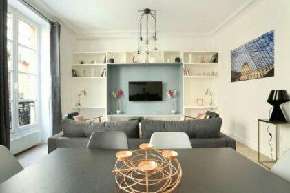 Charming apartment rue de Bretagne Saintonge