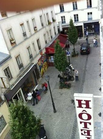 Hotel Paris Bordeaux Menilmontant- Photo2