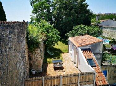 Un jardin sur le toit - Saintes
