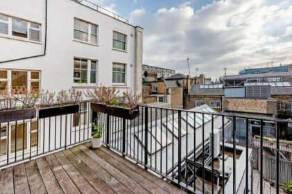 Amazing Penthouse With Terrace At Oxford Street