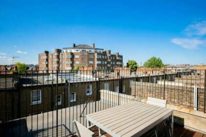 Luxury Top Floor Home In West Kensington W/Terrace