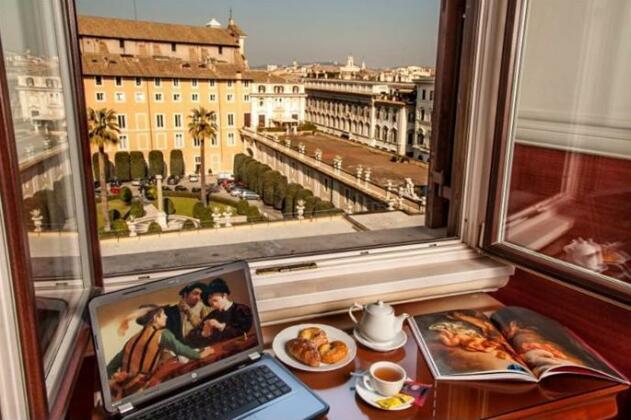 Hotel Cosmopolita Rome- Photo3