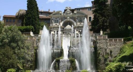 Fontana di Pegaso veduta su Villa D'Este