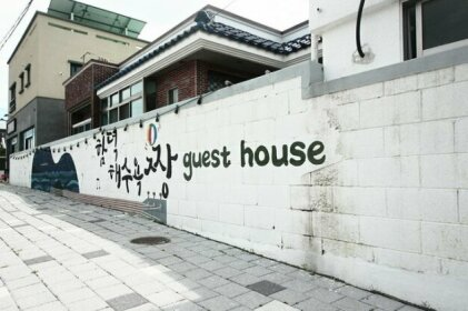Jeju Party Hamdeok Beach Guesthouse