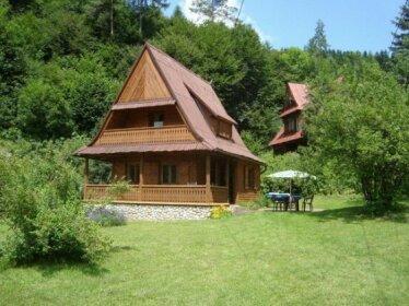 Drewniany Domek BB Nad Rzeka