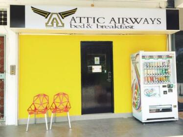 Attic Airways Bed - Breakfast