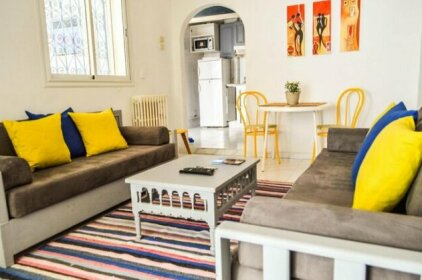 Cosy Apartment in Sidi Bou Said- Amilcar