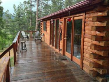 Deer Creek Log Cabin in Colorado