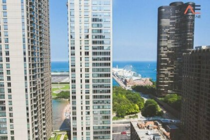 3b/3b Lux Huge Corner Amazing Navy Pier Views