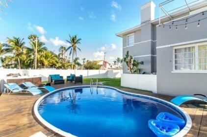 6br Art Deco House @ Biscayne Bay For 16