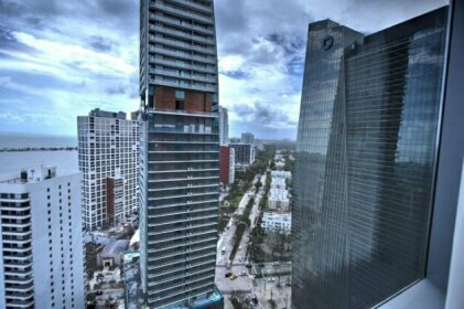 Private apartments at DownTown Miami