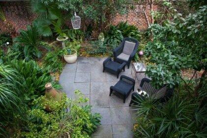 French Quarter Secret Garden