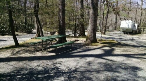 Linville Falls Campground RV Park and Cabins