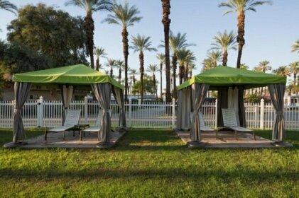Palm Springs Camping Resort Loft Cabin 2